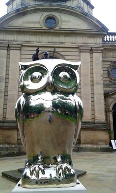 A Shiny Owl at St Philips Cathedral Birmingham