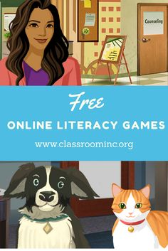 Try our free online literacy games and educator resources that drive real results in the classroom. #teaching #teachingresources #free #literacy #onlinegames