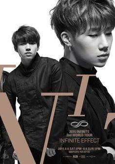 Infinite 2nd World Tour Infinite Effect | Woohyun and Sungkyu