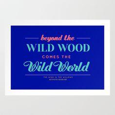 Beyond the Wild Wood Art Print by Vic[tori]a Little - $14.04