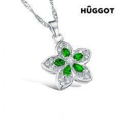 We present you Hûggot Green Flower Stainless Steel Pendant with Zircons cm) the new collection of jewellery Hûggot! A broad range of rings, bracelets, earri Gifts For Women, Gifts For Her, Green Flowers, Designing Women, Costume Jewelry, Bracelets, Belly Button Rings, Jewelry Gifts, Jewelry Design
