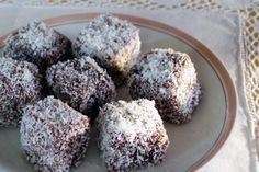 Ystervarkies (South African lamingtons) | Rainbow Cooking