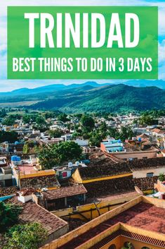 Trinidad is a beautiful colonial town in Cuba. In Trinidad you can relax at beautiful beaches, go horse riding in the Topes de Collantes National Park, go swimming in waterfalls and much more! Find out the best things to do in Trinidad in three days.