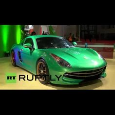 See Suzhou Eagle's electric 'imitation' of the Porsche Cayman