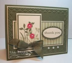 This is elegant and simple.  Very lovely.  Thank you Spring card