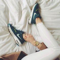 Nike Air Max Thea Gold Black Size U.K. 9 rare Depop