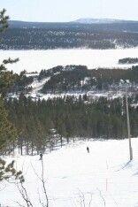 Fast vacation Hetta Lapland Finland Skiing snowy scenery M.