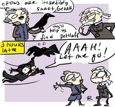 The Witcher 3, doodles 144 by Ayej.deviantart.com on @DeviantArt