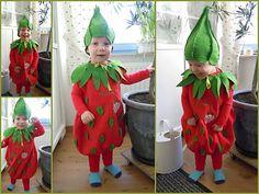 Strawberry Costum