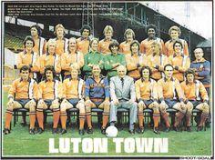 Luton Town 1976-77 team shoot.