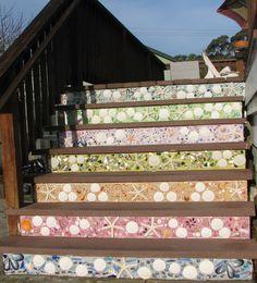 Mosaic stairs Starfi