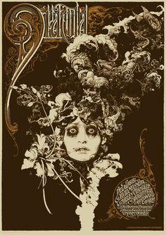 Original Dracula movie poster.