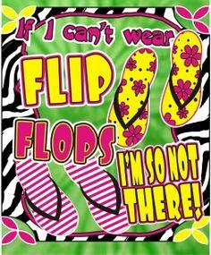 Southern Sweeties - Flip Flops - Tie Dye