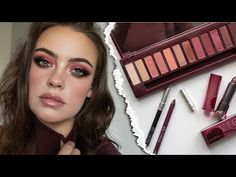 Green Eyes Asian Nude - Urban Decay Naked Cherry Palette