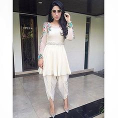 Love these tulip pants! #Repost from @PakistaniFashionDiary