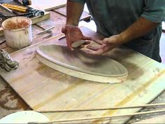 Pottery Video: How to Make an Elegant Wheel-Thrown & Handbuilt Serving Tray | MARTHA GROVER - YouTube