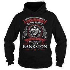 Awesome Tee BANKSTON Good Heart - Last Name, Surname TShirts T shirts
