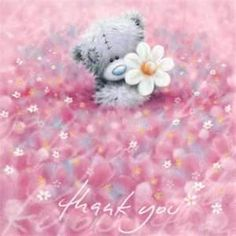 Image Detail for - Thank You Me to You Bear Card (A77QS059) : Me to You Online - The ...