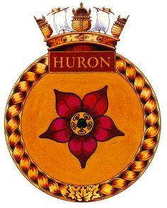 HMCS Iroquois Badges