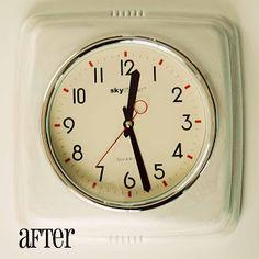 Carissa Miss: Retro Clock #retro