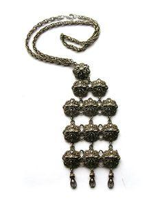 Vintage Bohemian Belly Dance Necklace  Tribal by 2VintageGypsies, $25.00