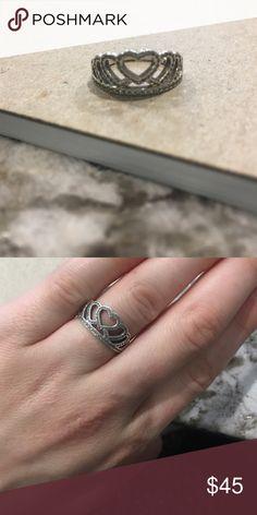 Pandora ring  Size 5 Pandora Crown Ring Pandora Jewelry Rings