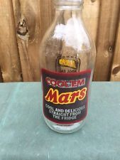 Mars collectable unigate milk bottle advertising Cool em Mars