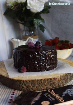 Bizcocho de chocolate y vino tinto - La chocolaterapia