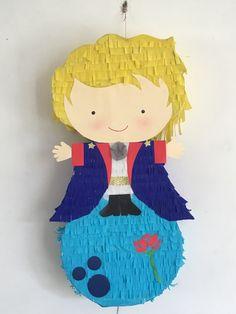 El principito piñata / pinata Little Prince Party, The Little Prince, Little Princess, Prince Birthday Party, 1st Birthday Parties, Boy Birthday, The Petit Prince, Ideas Para Fiestas, 1st Birthdays