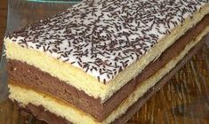 Recipe - Neapolitan cake biscuit - Rated by users Hungarian Desserts, Hungarian Recipes, Neapolitan Cake, My Recipes, Cooking Recipes, Opera Cake, Armenian Recipes, Torte Cake, Romanian Food