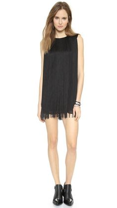 Rachel Zoe The Clove Fringe Dress