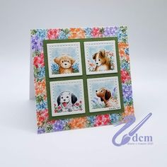 Art Impressions Stamps, Little Puppies, Paper Background, Birds, Watercolor, Photo And Video, Birthday, Dogs, Flowers
