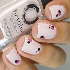 100 hottest acrylic square nails design for short nails coffin 36 Diy Nails, Cute Nails, Pretty Nails, Manicure Ideas, Nail Art Hacks, Easy Nail Art, Nail Art Ideas, Nagellack Design, Pink Nail Art