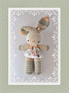 Mesmerizing Crochet an Amigurumi Rabbit Ideas. Lovely Crochet an Amigurumi Rabbit Ideas. Crochet Amigurumi, Amigurumi Patterns, Crochet Dolls, Crochet Patterns, Easter Crochet, Cute Crochet, Crochet For Kids, Crochet Rabbit, Crochet Animals