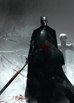 "Batman's taking that ""Dark Knight"" thing seriously"
