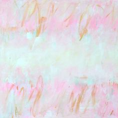 Custom Abstract Painting, Unique Nursery Decor, Custom Pink Gold Abstract Art, Large Pastel pink Gold Painting