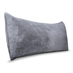 Room Essentials™ Fur Body Pillow Cover - Gray I WANT THE GRAY OR THE CREAM IN THE FUZZY MATERIAL! COVER ONLY! NOT THE PILLOW!