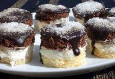 Kozák sapka Kláritól | NOSALTY Ital Food, Czech Recipes, Hungarian Recipes, Winter Food, Mini Cakes, Christmas Baking, Diy Food, Cake Cookies, Sweet Recipes