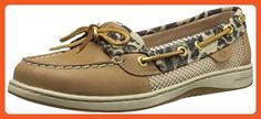 Sperry Top-Sider Women's Angelfish Boat Shoe, Leopard Linen, 7 M US - Loafers and slip ons for women (*Amazon Partner-Link)