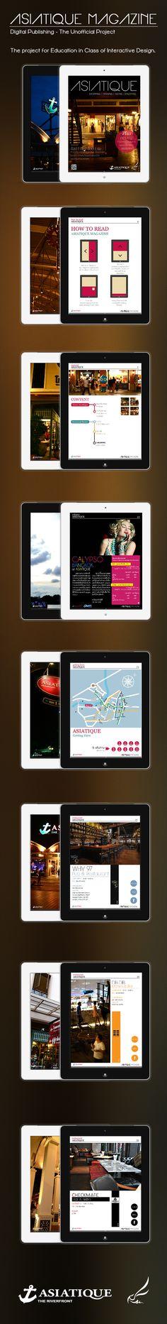 Asiatique Magazine (Unofficial Digital Publishing) on Behance