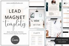 These Fresh Opt-in Freebie Templates are the freshest Canva Templates to help grow your email list on auto-pilot! Edit any elements to fit your branding! Contents Page Template, Title Page Template, Table Of Contents Page, I Got Your Back, Lead Magnet, Checklist Template, Branding Kit, Brand Board, Magazine Template