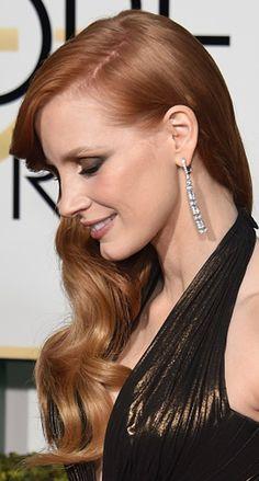 Beleza no Golden Globe 2015: Detalhes de maquiagem e penteado!