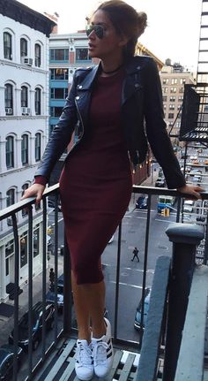 fall outfits going out outfits winter fashion casual work clothing Hipster Outfits, Mode Outfits, Trendy Outfits, Dress Outfits, Fashion Outfits, Sneakers Fashion, Hipster Style, Fashion Sandals, Dress Fashion