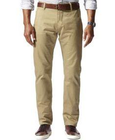 Dockers Men's Stretch Slim Tapered Fit Alpha Khaki Pants - Tan/Beige 28x28