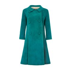 1960s Pierre Cardin Teal Suede Jacket   From a collection of rare vintage coats and outerwear at https://www.1stdibs.com/fashion/clothing/coats-outerwear/