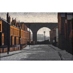 STUART WALTON (b.1933), Street Scene, Kirkstall, Leeds, oil on board, signed and dated (19)72 Decay Art, Urban Landscape, Leeds, Urban Decay, Art For Sale, Britain, Auction, Scene, Fine Art