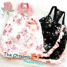 cherry blossum puppy dresses