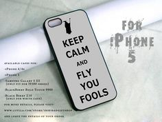 keep calm fly you fools design print -