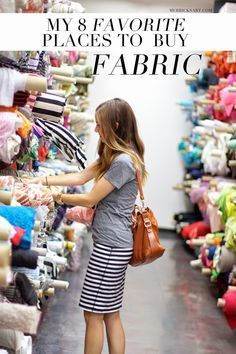 8 places to buy fabric (some online)