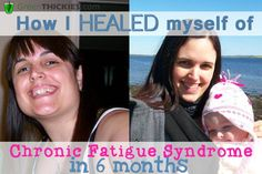 How I healed myself of Chronic Fatigue syndrome in 6 months Before and After Photo